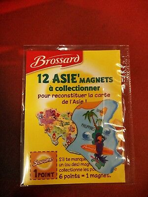 Magnet Brossard ASIE - TAIWAN/PHILIPPINES Neuf sous blister