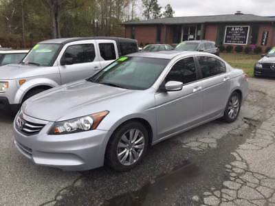 Accord EX L 4dr Sedan 2011 Honda Accord EX L 4dr Sedan 102,000 Miles Silver Sedan 2.4L I4 Natural Aspi