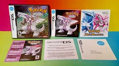 Pokemon Pearl Version - Nintendo DS Case, Manual, Inserts, ONLY *NO GAME*