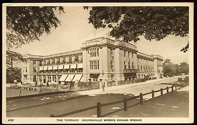 Old Rare Postcard Bournville Works Dining Rooms Warwickshire Unused (Ref: AA108)