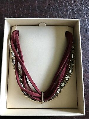 Brand New Rachel Zoe Box of Style Jen Atkin headwrap & choker