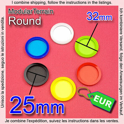 2x Skill Wound Counter Token 25mm Round MAGNET Bases War Hammer 40k Infinity AOS