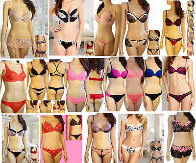 Wholesale Lot Bra Panty 80 PIece Intimates Bra Sets and Separates Mixed Lot