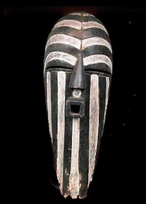 Old Tribal Songye Female Kifwebe    Mask      -- Congo
