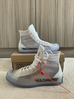 CONVERSE X OFF WHITE Chuck Taylor All Star VULCANIZED TAILLE