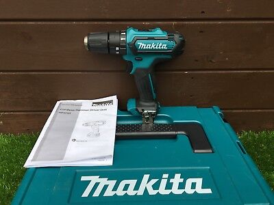 Makita 10.8v  Combi Drill HP331D Body Only Includes Tool Clip  )CLX202AJ)