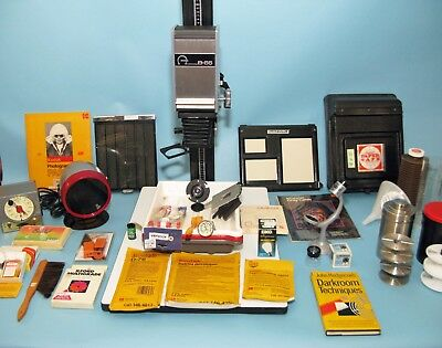 Omega B-66 XL Black and White Enlarger Plus Complete Pro Darkroom