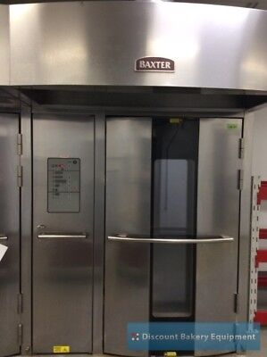 Baxter OV500G2 Rotating Double Rack Gas Oven