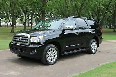 Toyota Sequoia Platinum 4x4  1 Owner MSRP $67234 One Owner Perfect Carfax Loaded Platinum MSRP New $67234  Like New!