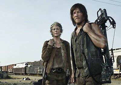 THE WALKING DEAD TV Show PHOTO Print POSTER Series Cast Art Daryl & Carol 012