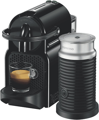 NEW Nespresso EN80BAE DeLonghi Inissia Capsule Coffee Machine - Black
