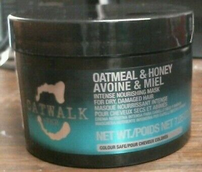 TIGI Catwalk Oatmeal and Honey Intense Nourishing Hair Mask 7.05 oz - NEW