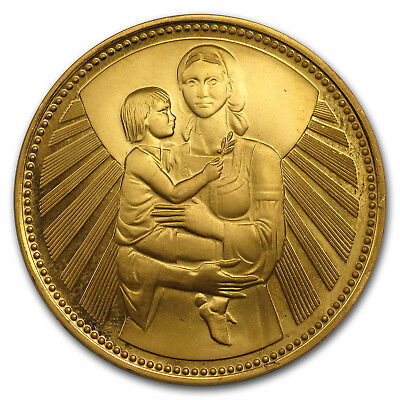 1981 Bulgaria Proof Gold 1000 Leva Mother and Child - SKU#169445