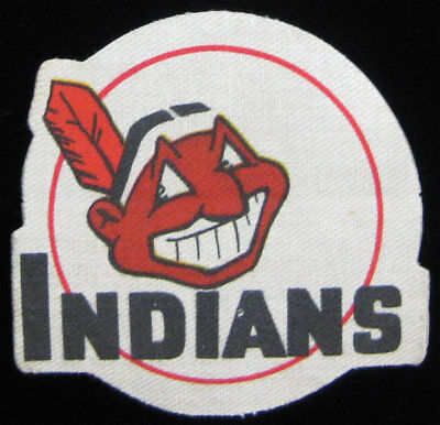 Cleveland Indians VTG 1955 Post Sugar Crisp Cereal MLB Logo Patch - Chief Wahoo