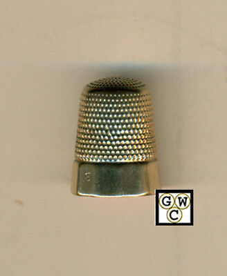 10k Gold Thimble  , Weight 2.6Gr. (OOAK)