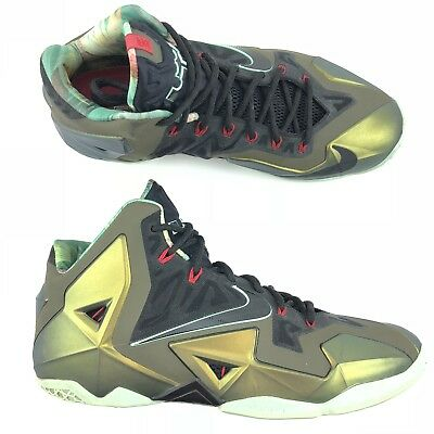 f3ba2fee4b67c Men s Nike LeBron 11 XI Kings Pride Limited Edition Shoes 616175-700 Size 13
