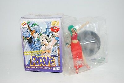 RAVE Master KONAMI FIGURE COLLECTION #5 REINA OPEN BOX SEALED PACKAGE