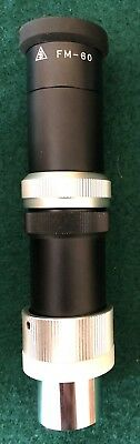 Takahashi FM-60 Focusing Microscope Made in Japan  EXCELLENT