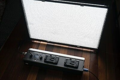 Softpanels 2x3' LED Light with Honeycomb grid, gel fame and soft case