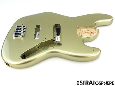 2017 Fender American Elite Jazz BASS BODY + HARDWARE American Champagne
