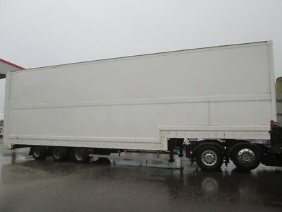 2004 Montracon Stepframe Box, Twin Deck C/w 10Ft Tail Lift,ideal Conversion Why.