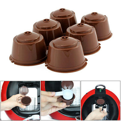 4pcs Refillable Reusable Coffee Capsule Pods Cup for Nescafe Dolce Gusto.Machine