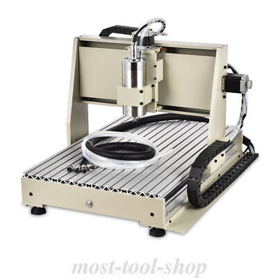 Usb 3 Axis Cnc Router Engraver Machine 6040T Engraving Mill & Drill 3D Cutter