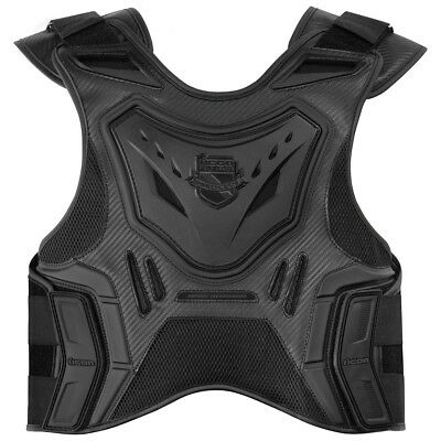 Icon Stryker Field Armor Vest Stealth/Black