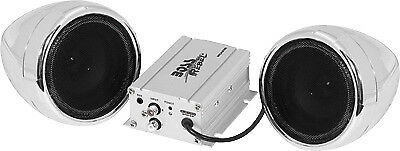 Boss 600 Watt Bluetooth Stereo All Terrain Sound System Chrome