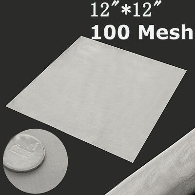 100 Mesh/150 Micron Stainless Steel Filter Filtration Woven Wire Screen Useful
