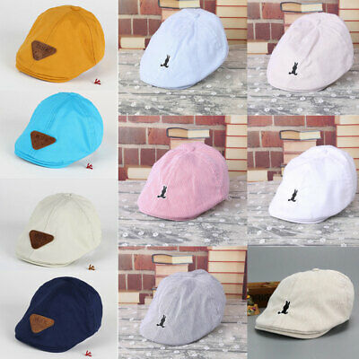 Fashion Kids Baby Boy Toddler Sun Hat Cotton Beret Summer Bonnet Baseball Cap