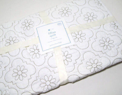 Pottery Barn Kids Cotton Multi Colors Lillian Floral Baby Toddler Quilt New