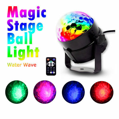 LEDWater Wave Effect Disco Light Stage Laser Light Club Party Crystal Magic Ball