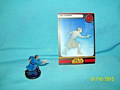 WotC Star Wars Miniatures Bail Organa, RotS 05/60, Republic, Very Rare