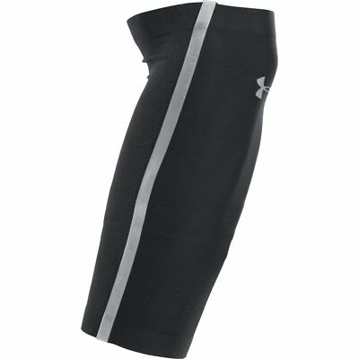 Under Armour Mens CoolSwitch AV Calf Sleeves - Black/Reflective - S