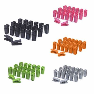 20PCS Heavy Duty Clothes Pegs Plastic Hangers Racks Clothespins Laundry Clothes