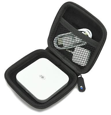 Portable Credit Card Reader Scanner Case Fits Square Contactless Chip Carbon Eva