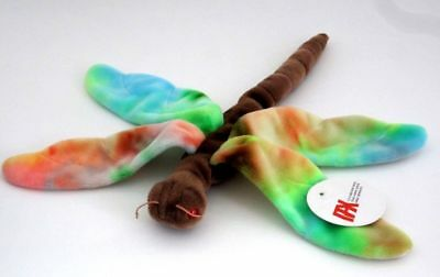 Authenticated Ty Beanie Baby Prototype Never Produced Tie-Dye Dragonfly PAX Tag