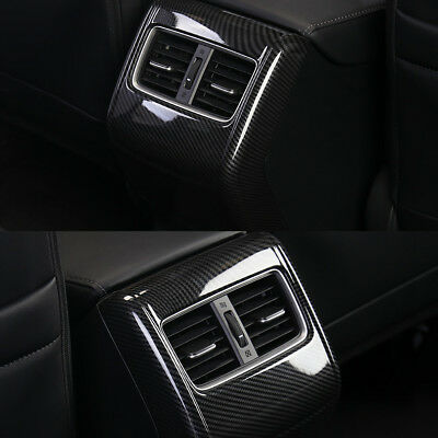 ABS Carbon Passenger A/C Air Conditioning Vent Adornment  For HONDA ACCORD 2018