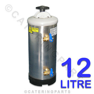 DVA 12 litre 12lt DISHWASHER SALT TYPE LIMESCALE WATER SOFTENER FILTER INC RESIN