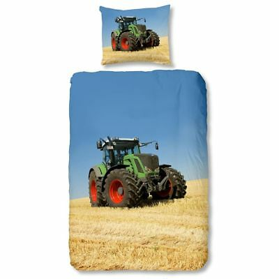 Good Morning Housse de Couette 4208P TRACTOR 140x200/220cm Multicolore