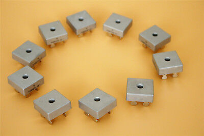 10PCS Single Phases Diode 50A 1000V KBPC5010 Metal Case Bridge Rectifier
