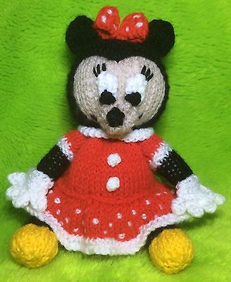 Knitting Pattern Minnie Mouse Inspired Chocolate Orange Cover 16