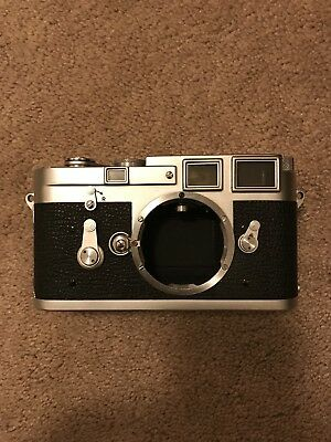 Leica M3 DS Double Stroke Rangefinder Chrome Camera