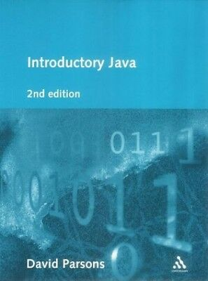 Introductory Java by Parsons, David Paperback Book The Cheap Fast Free Post