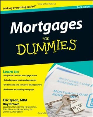 Mortgages for Dummies, Third Edition by Brown, Ray Paperback Book The Cheap Fast