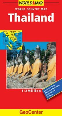 Thailand GeoCenter World Map by Mairs Sheet map, folded Book The Cheap Fast Free