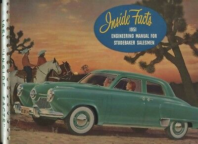 Inside Facts 1951 Engineering Manual for Studebaker Salesmen