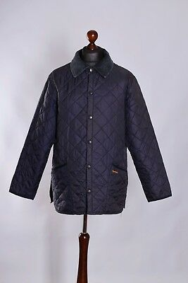 Men's Barbour Liddesdale Quilt Jacket Size M L Genuine Casual