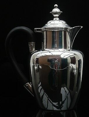 Silver Hot Water Pot, London 1898